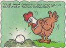 Giselda quando ainda era um ovo e sua mãe.png