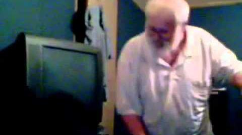 Angry Grandpa Destroys Wii