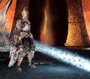 Rey de Marfil quemado