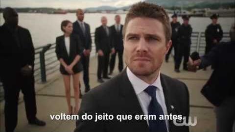 Victor damiãoRS/Arrow - Nova equipe do Arqueiro Verde está uniformizada no trailer da quinta temporada