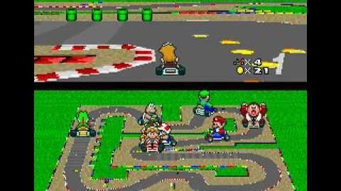 SNES Longplay 110 Super Mario Kart