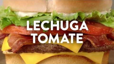 """Comercial de Jack in the Box - BLT Cheeseburger Combo por $4.99 – """"Video Juego"""""""