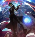 Hazama (Centralfiction, arcade mode illustration, 4).png