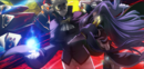 Relius Clover (Centralfiction, arcade mode illustration, 3, type A).png