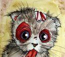 A kitten love