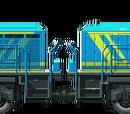18 Power Diesel Locomotives