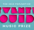 Popjustice's Twenty Quid Music Prize