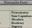 Reactionary parties