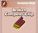 Broken Computer Chip