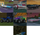 Secret Vehicles