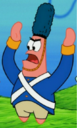 Patrick Wearing a War Outfit.png