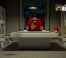 Eggman's secret underground bunker