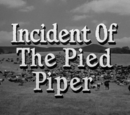 Incident of the Pied Piper