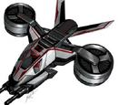 Tiltrotor fighter aircraft