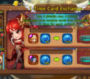 1-Time Card Exchange Event