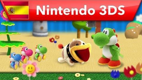 Poochy & Yoshi's Woolly World - Tráiler de novedades (Nintendo 3DS)