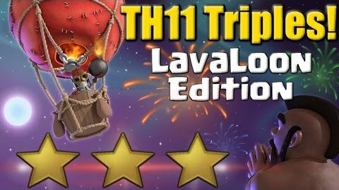 TH11 Triples LavaLoon Edition! Best 3 Star Attack Strategy Clash of Clans