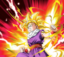 Enraged at Evil Super Saiyan Gohan (Youth)