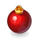 Asset Red Christmas Tree Bauble.png