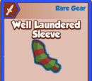 Well Laundered Sleeve