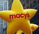 Macy's Yellow Stars