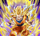 Extreme Power Struggle Super Saiyan 3 Goku (Angel)