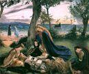 The Death of King Arthur by James Archer (1860).jpg