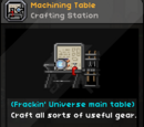 Machining Table