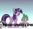Twilight Sparkle & Spike