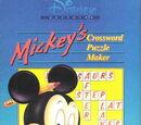 Mickey's Crossword Puzzle Maker