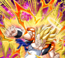 Outshining Darkness Super Gogeta