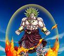 Indestructible Saiyan Evil Legendary Super Saiyan Broly