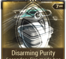 Disarming Purity