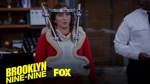 Gina Returns To Work After Getting Hit By A Bus Season 4 Ep. 13 BROOKLYN NINE-NINE