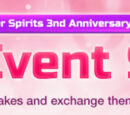 3rd Anniversary May Event Scout