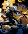 Alejandra Jones (Earth-616) and Johnathon Blaze (Earth-616) from Ghost Rider Vol 7 2 001.jpg