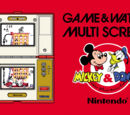 Mickey and Donald (Game and Watch)
