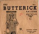 Butterick 5982 B