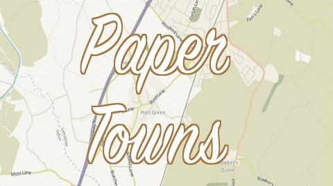 TWL 3 Paper Towns- Fake Places Made to Catch Copyright Thieves