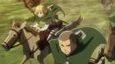 Scout Regiment rides to rescue Eren.png