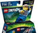 71266 LEGO City Undercover: Чейз Маккейн