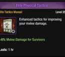 Elite Physical Tactics