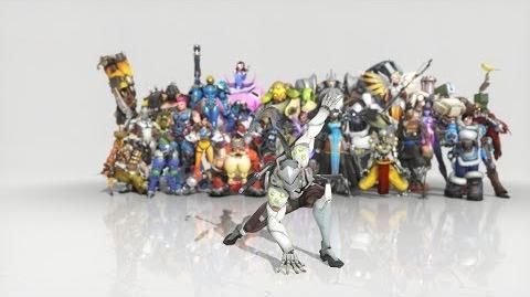 Overwatch - Anniversary Genji emote - Dance