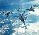 Ace Combat X: Skies of Deception/Летательные аппараты