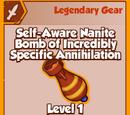 Self-Aware Nanite Bomb of Incredibly Specific Annihilation