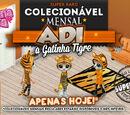 Adi, a Gatinha Tigre é o SUPER RARO do mês de Maio de 2017