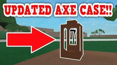 NEW AN IMPROVED LUMBER TYCOON AXE STORAGE CASE !! ROBLOX