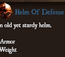 Helm Of Defense