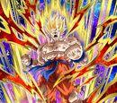 Roaring Anger Super Saiyan Goku