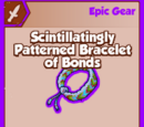 Scintillatingly Patterned Bracelet of Bonds